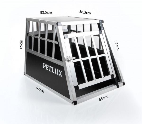 hundetransportbox hundebox alu hunde schwarz transportbox. Black Bedroom Furniture Sets. Home Design Ideas