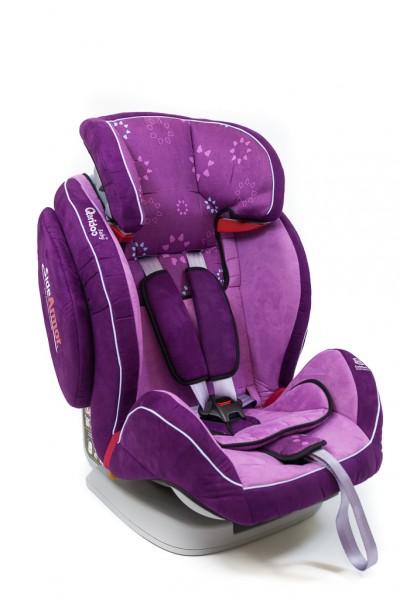 kinder autositz violet kinderautositz 9 36kg autokindersitz qeridoo noble gruppe ebay. Black Bedroom Furniture Sets. Home Design Ideas