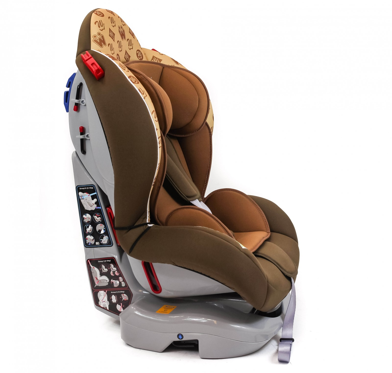 infant car seat brown 0 25kg qeridoo sport wise pseudo reboarder. Black Bedroom Furniture Sets. Home Design Ideas