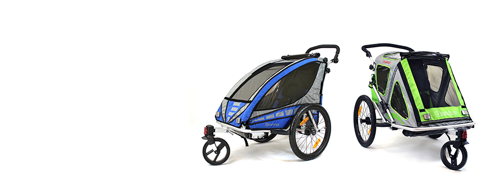 przyczepki rowerowe fahrradanh nger f r babys. Black Bedroom Furniture Sets. Home Design Ideas